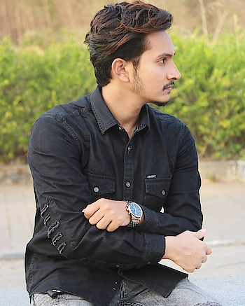 Distressed Sleeves Elbow Patch Denim Shirt By Ajio. . . . #ootdindia #indianclassypeople #menwithclass #dappermen #dapperday #dapperoutfit #menwithstyle #gqmen #menshealth #distresseddenim #indianmaleblogger #malefashion #mumbaiblogger #indianfashionblogger #indianblogger #ootdfashion #mensfashionpost #mensweardaily #canonclicks #shotoncanon #casualstyles #casualvibes #mumbaifashionblogger
