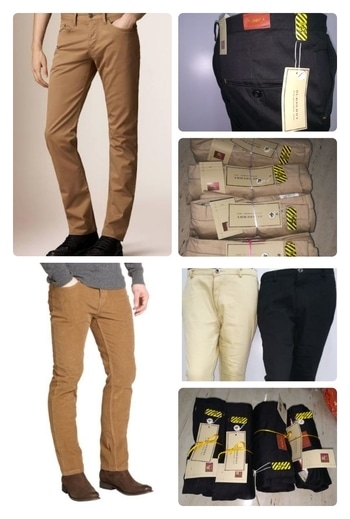 BURBERRY classic  Ankele length 3 Lycra office pant  Two ready colours   30,32,34,36  999+S