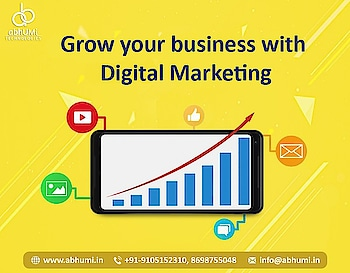"""The best marketing doesn't feel like marketing. It is the art of creating genuine customer value.""  Grow your Business with Digital Marketing Which Helps you for ranking on Google.  Visit us for more details Email: info@abhumi.in Contact: +91-9105152310, +91-8698755048  #abhumi #technologies #digitalmarketing #SEO #SMM #SMO #searchengine #webdevelopment #webdesign #designing #IT  #android #ios #application #development #business  #bestdigitalmarketing #marketing #google  #ITSolutions #bestservices #dehradun"