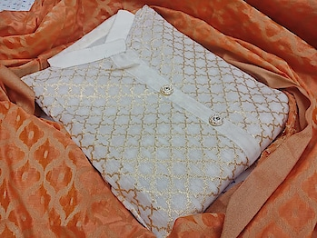 *Top*  chanderi silk with inner embroidery work  2.5.m.t.r.  *Dupatta* banarasi silk  2.25.m.t.r  *Bottom* cotton  2.00.m.t.r.  *Price 929+$🐋🐋*  *Only 3 colour*   Direct Message us or whatsapp on 9867764381   Follow us 👉🏻on FB:  *https://www.facebook.com/Stylista-Fashionss-2137660539847810/*  #stylistafashionss #style #fashion #trend #readysuit #dressmaterial #ethnic #western #fashionjewellery  #handbags #kurti #botttomwear #onestop #shopping #saree #readymadeblouse #lookstylish #bethefashion #shopstylistafashionss #onlineshopping #bestquality #bestprice #bestbuy #swag