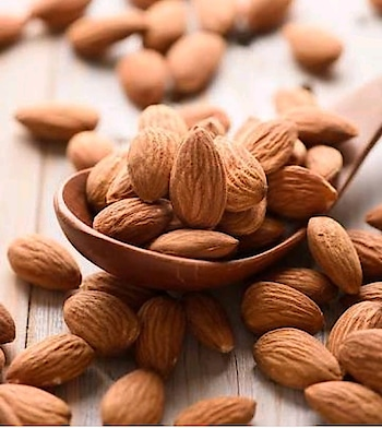 "Skin Care Tip . . Snack on Almonds . .  Almonds are one of our favorite healthy snacks, and munching on them will help give you super skin. . . Despite being high in fat, they are highly nutritious and extremely healthy. . . Almonds are a fantastic source of antioxidants. . . Antioxidants help to protect against oxidative stress, which can damage molecules in cells and contribute to aging . . Almonds are among the world's best sources of vitamin E. . . The naturally sweet nut is a good source of omega-3s (""good fats"") and Vitamin E, Fiber, Protein, Omega-6 Fatty Acid, Potassium, zinc, Calcium, Magnesium these things keep your skin cells plump and healthy. . . Almonds are not only beneficial for your health or skin, but if used in the right manner, they can also give us long and smooth tresses. . . . So don't forget to munchin few almonds everyday.. . . . . . . . . . . . . . . . . . . .  #almonds #healthtips #skincare #skincaretips #healthcaretips #tipoftheday #beautytips #natural #naturalbeauty #naturalbeautytips #indianbeautyblog #indianbeautyblogger #bangalorebeautyblogger #mumbaibeautyblog #mumbaibeautyblogger #bangalorebeautyblog #indiblogger #vitamine #healthcare #antiaging #antioxidants"