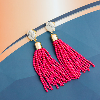 Get the best of 'Hot Beads', 'Pink', 'Tassels', all in one 💜 at just Rs. 849 & also get Rs. 200 Off on purchase of 1000 #showstopper #fashion #shoponline #shopping #earringsoftheday #earringslove #earringlove #tasselearrings #tassels #tassellove #earings #earring #earrings #order #cod #ootd #discount #picoftheday #pictureoftheday #winter #happysankranti #hello2017 #jewelrygram #accessories #mumbaifashion #bangalore #delhifashion #chennai #mumbai #delhi #fashionjewelry #itsdarling #baubles #newyear #monday #black #ilovewinters #roposodaily #ropo-love #soroposo #love #roposo #beauty #jewellery