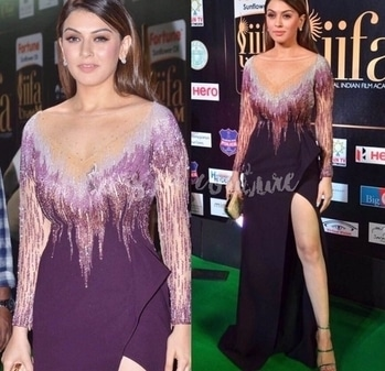 To see how @ihansika heats up 🔥the #RedCarpet at #IIFAUtsavam2017 head to #ToastorRoast 🥂#ToastedCouture           #iifaawards #iifautsavam #redcarpetfashion #hansikamotwani #southindian #tollywood #indianfashionblogger #indianfashion #celebstyle #awards #RedCarpet #eveninggown #sexy #glamorous #risqué #beauty #fashionlove #fashiondesigner #designerwear #beadedgown #sheerdress #fashioneditorial #indiandesigner
