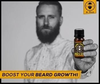 Want to boost your #Beard Growth?   #SaintBeard