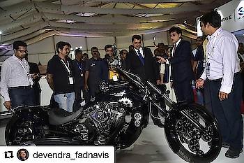 Awesome feeling when our own Mumbai CM Devendra Fadnavis appreciates my brothers hard work 😘😘😘❤️❤️❤️ @vjtripping @devendra_fadnavis @avanturachoppers @avantura16 @vinshirl #mumbai #mumbaichiefminister #devendrafadnavis #avantura #avanturachoppers #avanturachoppersrudra #mumbaibikes #bikes #motorcycle #hugebikes #lovebikes #lovebikesforever #bemoredomore