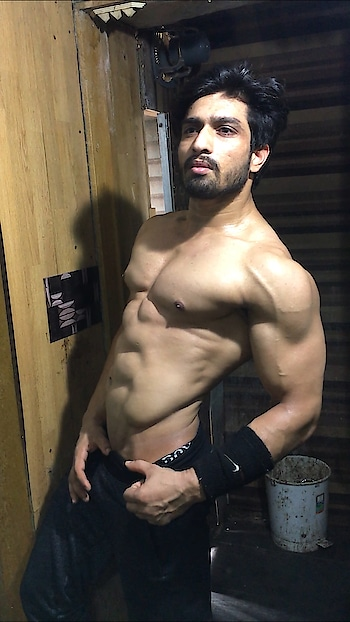 #sexy-look #muscles #hardwork #hunk #hotmen #model #fitness #fitnessgoal