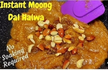 Watch instant moong Dal Halwa recipe! On YouTube -> Kanak's Kitchen #dessert #food #desserts #TagsForLikes #yum #yummy #amazing #instagood #instafood #sweet #chocolate #cake #icecream #dessertporn #delish #foods #delicious #tasty #eat #eating #hungry #foodpics #sweettooth #kanakskitchen