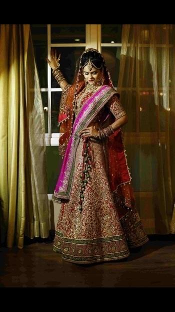 Gorgeous brides ..... #Libasbride #libasreshmariyaz #libasweddings #ethnicwear #bridallehenga  #bridalwear