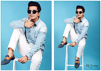 I am a masterpiece in making ,and my shine can only be seen by the best - @rappermaddy . . 📷 - @rajvirsainiphotography  Shoes - @lozano_india  Look - @koovsfashion / @koovsman  Glares - @lenskart . . #love #rappermaddy #fashion #life #dapper #blue #colorful #style #follow #swag #shoes #koovsxyou #polishgirl #girl #hot #fitness #bollywood #time #music #smile #instagood #instafashion #instadaily #actor #singer #rappermaddy #fashion #blogger #india