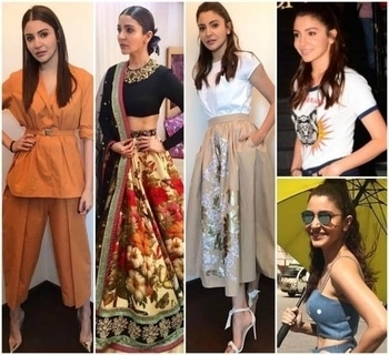 Phillauri Style File: Here is a round-up of Anushka Sharma's promotional looks These looks were worn by Anushka Sharma as she promoted her movie Phillauri, prove why she is the rising style star. Here is an amalgamation of all her outfits from her promotional tour. Have a look