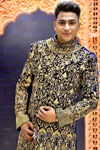 #ethnic-wear #sherwani_for_men #2017 #roposo #mahashay_garments #sherwanis