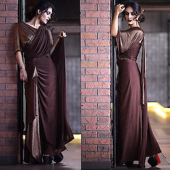 What Makes You Different, Makes You Beautiful... 😍😍😍 Beautiful Designer Outfit from @zeba_byparul 😍  : #drapedsaree #indowestern #desi #indianlook #indiangirl #desilook #stylish #stylo #desigirl #saree #sexy #hot #amazing #outfit #fashiondress #fashioninsta #fashionaddict #beauty #nehamalik #model #actor #blogger #mumbai   : Photography @thegreydot  Mua @bela2483  Location @kube.andheri