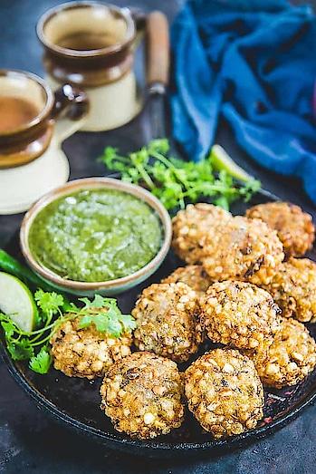 Sabudana vada known as sago vada, a deep #fried Maharashtrian #appetizer makes a #crispy #evening #snack.  Image via Whiskaffair #food #love #yumm #eat #delicious #India #incredibleindia #indianfood #foodporn #foodie #chefmode #photooftheday #Maharashtra