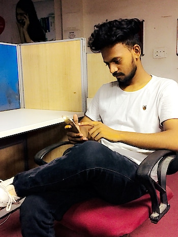 When I am badly stuck on white. All time favorite. Need the same look?  Get your shoes or may be more from @snapdeal  Upper @zaramen  #home #chilling #casual #white #sneakers #shoes #summer #look #international #malemodel #picoftheday #tagforlikes #insta #love #hair  #beard #cool #hot #sexy #handsome  #thursday #tbt #fashionpost #style #misterecointernational