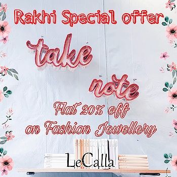 Special offer, Flat 20% off, use code : RAKHI20 and order now www.lecalla.in   #LeCalla #RakhiOffer #forbrother #forsister #silver #musthave #jewellery #loveforsilver #kidsstylezz #rakhi #silverrakhi #giftideas #giftingideas #unique #instajewellery #instagood #instajewellery #intrend #roposo #roposolove #roposotalks