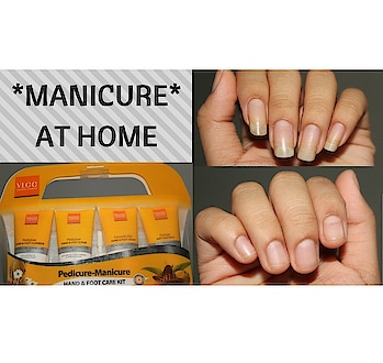 Manicure at home #nailart #manicure #lovefornails