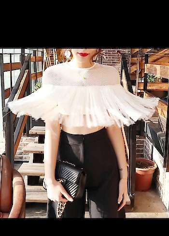 Hot selling fringes top💙 Available in 3 colors Size S M L . 💙Swipe for more pics . . 💙Dm or Whatsapp 9687050267 to order . . 💙Mode of payment: Net banking/cash deposite/Paytm . . 💙Cash on delivery All over India . . 💙Delivery in 10-15 days . . #Dazzling_fashion_store #fashionblogger #fashionclothing #styleblogger #fashion #instafashion #fashiongram #fashionshop #fashionstyle #fashionable #fashionbaby #fashionpost #fashiongirl #fashiondaily #india #onlinestore #designerwear #designerinspired #designerclothes #mumbai #delhi #mumbaifashion #heels #clothing #design