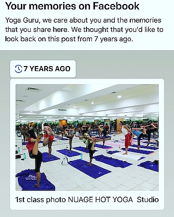 7 years ago  We started a journey towards transformation of self through self and with all ur well wishes and Allah  blessings we are going strong !  Looking forward towards more transformation with immense pride in all the yogis and yours truly , @yogagurumansoorbaluch#yoga#yogaflow#yogalife #yogaeverydamnday #yogainspiration #yogainspiration #yogaeverydamnday #yogateacher #yogajourney #nuagehotyoga #yogagurumansoor