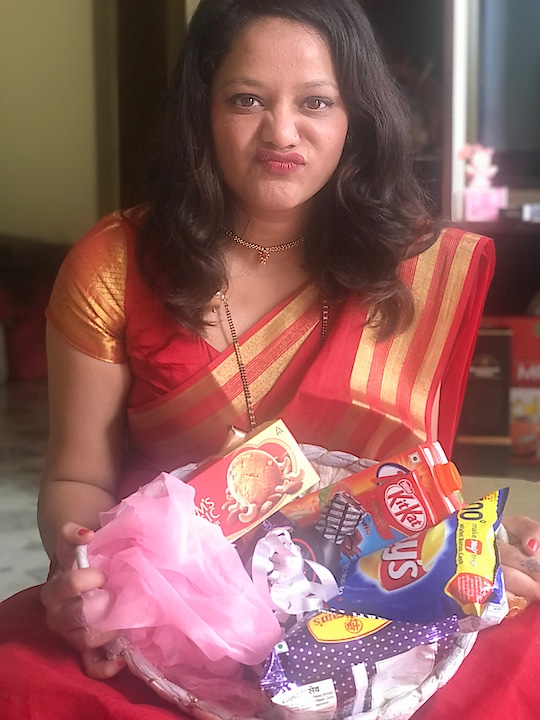Me n my only love....junk 😘 #junkfood #lays #raakhispecial #gifts #celebration #chocolate #sweets #lovefood #foodie  #roposo-style #indian-festival