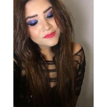 T H E   B L U E   S M O K E  _________________________________ Breakdown : @maybelline Fitme concealer @mynykaa Skingenius sculpting & hydrating foundation #almondbeige @lagirlcosmetics Velvet contour stick  @milanicosmetics Baked blush in #luminous  @paccosmetic Eye base  @makeuprevolution Eye shadow palette #eyeslikeangels @maccosmetics Gel eyeliner  @maybelline Falsies pushup drama Mascara  @ardellbeauty Lashes in no 105 #black  @nyxcosmetics Soft matte lip cream in shade #ibiza  . . . #makeup #makeupartist #roposotalenthunt #makeupartistworldwide #bluesmokey #smokeyeye #wakeupandmakeup #universodamaquiagem_oficial #imbbmakeupgurus #imbbfam #makeupmafia #mua_underdogs #undiscovered_muas #beauty #beautyjunkie #beautyblogger #makeupblogger #diymakeup #mualife #bloggerlife #muaindia #thatwingedeyeblogger #staytuned