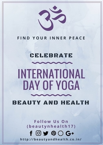 #StayFit #StayHealthy Celebrate #InternationalYogaDay with Beauty And Health Blog!!!  #indianbeautyblogger #indianmakeupandbeautyblogger #skincare #facecare #bodycare #productreview