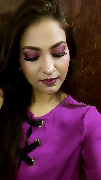 Playing with some colors this time.. #poonamrawatmakeovers #beautyraaga #mua #muadelhi #beautyblogger #makeup  #soroposolook