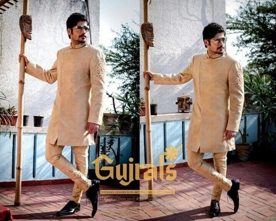 Campaign shoot for Gujral's #sherwanis