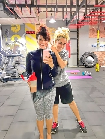 Beastmode babies!  #HottieScottie #goddess #workoutstyle