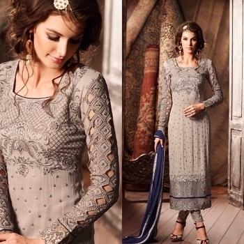 Grey Party Wear Chudidar Suit Product code - FCSS652 Available at www.fashionclozet.com  Watsapp - +91 9930777376 Email -  info@fashionclozet.com Or DM for enquiries. #indianwear #indianfashion #indianwedding #instagram #adorable #beautiful #bollywood #makeup #mumbai #indianstyle #desi #punjabisuits #indowestern #bridalsarees #designersaree #designerwear #saree #punjabiweddings  ##desibeautyblog #blogger #fashionblogger #weddingphotography #vancouverwedding #weddingphotographer #indianweddingbuzz #bridallehengas  #bridesmaids  #saree #sari