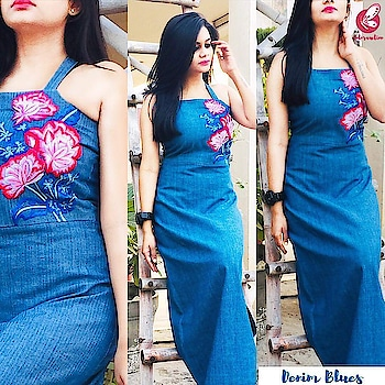 Denim is Forever❤️ yay or nay? Comment and let us know.  Now you can order kurtis and other garments and get them customized to your preferences.   Reach out to us at contact@colorauction.com or DM us for details.  Explore our exclusive collection only at https://colorauction.com  #denimdress #denimlove #maxidress #embroidery #denimblues #strappy #sexy #slay #outfitoftheday #ootd #igers #affordablefashion #shopthelook #vogue #lovemyoutfit #startup #startuplife #onlineshoping #ecommerce #offlineboutique #denim-love #denimized #denimstyle #denimdress #denim-love #soroposofashion #soroposofashionista #soroposostylefiles #soroposogal #soropogood #lookbook