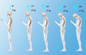 Head weight while using phone 📱