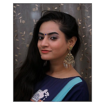 Whatever is good for your soul. Do that! Beautiful peacock earrings: @lerdo.in (one of my favourite shop)(light weighted) Clicked by : @nikkiisharma