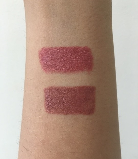Top to Bottom: @mynykaa Naughty Nude and Taupe Thrill #nudelook