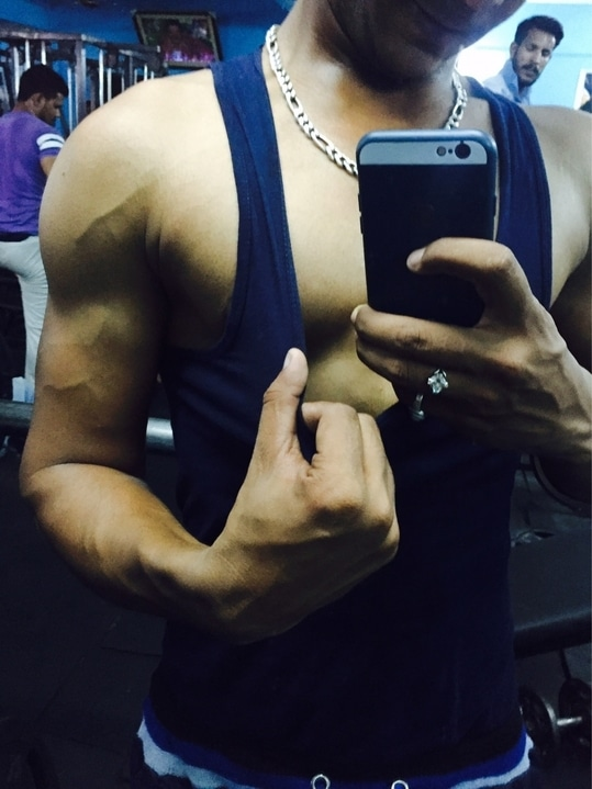 Gym Is Not My need Gym Is My Passion I Have To Be Compete With Me !!!! #rampalofficial #rampal #gymlife