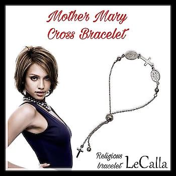 Adjustable Sliding Mother Mary Cross Religious Bracelet, for more such designs: https://goo.gl/mYf1BE  . . . . . #LeCalla #Bracelet #sliding #silver #Amazon #USA #ordernow #silverjewelry #photooftheday #roposo #instapic #fashionista #instaamazon #amazonus #usa #usafashion #jewelleryusa #silverjewellery #sterlingsilverjewelry #ootd #ootdfashion #trendyjewellery #grabnow #amazonjewelry