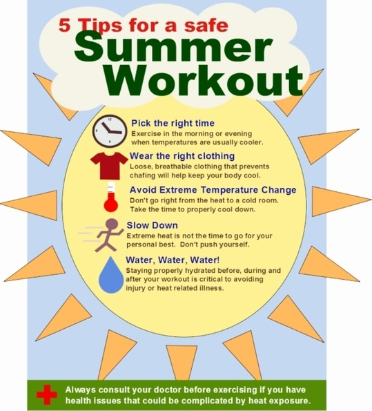Some tips for summer workouts. #summertips #workouts #healthyliving #dubai #dubaiblogger #beautyblogger #fashionblogger #youtuber #stylefromcloset  #healthtips