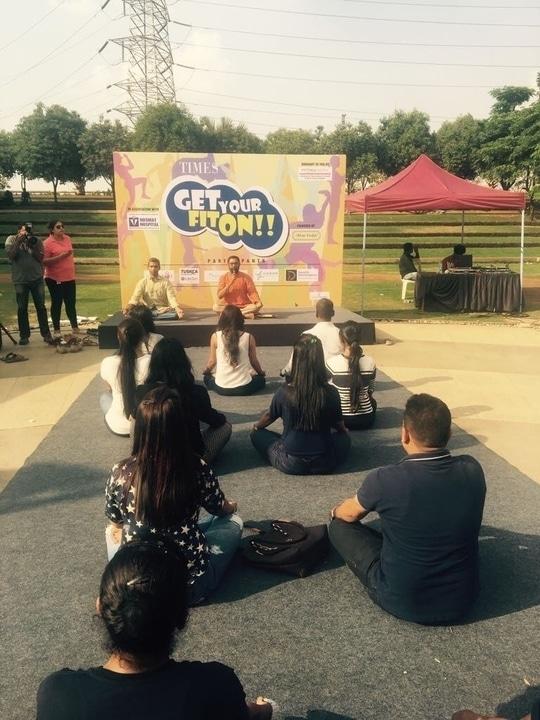 #bangaloretimes #getyourfitonevent #healthylifestyle #fitnessmotivation #manyatatechpark