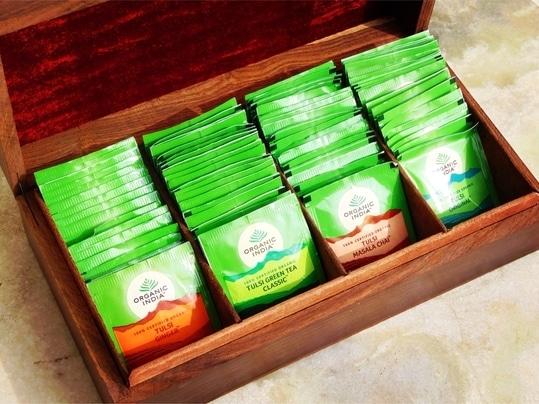 A box full of health from ORGANIC INDIA Read the benefits and my take on Organic India Green Tea...  http://bit.ly/2ytU4cB #indianbeautyblogger #beautyandhealthblog #OrganicIndia