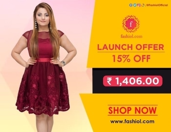 Order this cute little #RedDress now! To order visit our site www.fashiol.com and avail 15% Off (Launch Offer). Use Code: FASH15  . . . . #FashionAtFashiol #FashiolIsLive #DesignerCollection #PartyWear #CocktailDresses #OnlineFashion #FashionLive