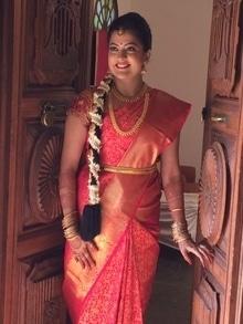 My Traditional South Indian Bride #bridal #makeup #makeupartist #mangalorean #bride #indianwedings #wedding-bride #weddingmakeup #southindian #southindianbride #bridalmakeup #bridalmakeupartist #makeupbynikkineeladri #bangalore #muabangalore #soroposo #roposolove #roposobride #bridesofindia #makeupforever #nars #mac #maccosmeticsindia #red #traditionalwedding #traditionalbride