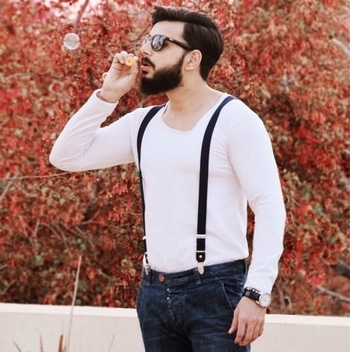#men-fashion #beardedmen #beardlove #beardlife #suspenders #summer-style #new style #new #fashion #fashion