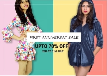 With all your love and support *TheYou IS TURNING ONE* . . . And it's time to celebrate  Amazing Anniversary Sale coming up !! . . . UPTO 70% off  STARTS FROM TOMORROW!! . . . Tune in to www.theyou.in or DM us for orders  There is that simple !! . . See you guys at the SALE  Have a SALE-SOM weak ! . . #amazingdeals #designerwear #dealoftheday #sale #anniversarysale #turnsone #oneamazingyear #instapic #instalike #instagood #forever #follow4follow #followforlike #followforfollow #like4like #likeforlikes #likeforfollow #like4like #theyou #theyousquad #theyouthere #theyouandyou #theyou_family #saleishere #upto70off #amazinlyamazing