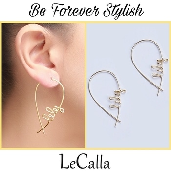 Be forever stylish with these gold plated silver hoop name earrings. Order yours now, DM for more details.   #LeCalla #Foreverstylish #ordernow #silverjewellery #hoopearrings #customised #instalove #instafashion #instajewellery #offerprice #ordernow😍 #giftideas #uniquegifting #nameearrings #solecalla #musthave #earrings #ultimategifting #goldplated #classy #roposofashion #roposostyle #roposolook