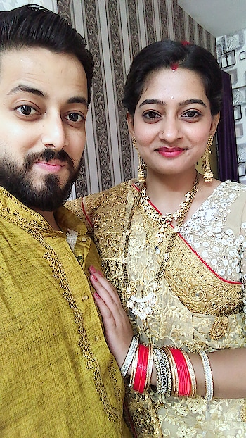 #indiancouple #happycouple #love #indianwedings #weddings #traditional #vatsavitri #pooja #vatpornima #fast #husbandwife