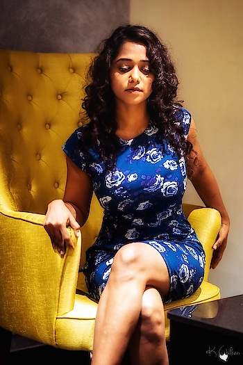 Blue is my recent favourite 😜#gypsyatheart #yashashrimasurkar#bluedress