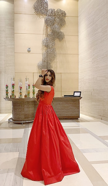 """She isn't """" Love at first sight """" kinda girl , but once you have an insight, you'll love her at Every Sight ✌️♥️♥️ : #eventready #eventtime #allset fr d #night #clubappearance #event #celebrity #celebrityappearance #guestappearance #redgown #redhot #redoutfit #gown #princessgown #princess #fairytale #punjabiactress #punjabicelebrity #fashionblogger #sakhiyaan #celebration #actorslife #nehamalik #model #actor #blogger"""