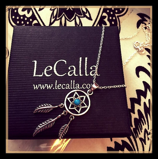 Follow your dreams with our dream catcher jewellery. This Dream Catcher Pendant is both chic and unique, #ShopNow and get 20% Off on every purchase above Rs 1000/-  #LeCalla #ordernow #Offer #DreamCatcher #pendant #silver #roposo #roposolove #instalove #instajewellery #instagood #ootd #oxidized #photooftheday #elegant #exclusive #fashionista #fashionwear #womensfashion #girls #offerprice #dailywear #dailylook #dmfordetails #Trendy #trendyjewelry #jewellery