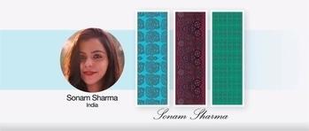 Guess who's designs/ art made it to HSN, USA? Mine!😬 #artist #vida #hsn #art #doodlegirl #onlineshopping #scarves