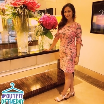 You are Amazing.. just remember that💋💋💋 Love M. #ChefMeghna #DressingUp #event #outfitoftheday #floral