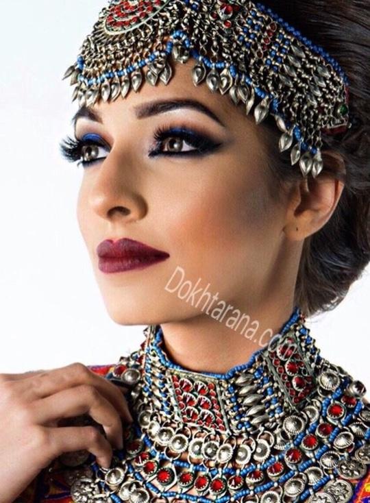 #afghan jewellery #silverisback #jwellerymatchingmakeup #beautifulstyles  #jewellery